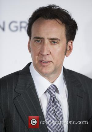 Nicholas Cage - On Frozen Ground UK Premiere held at the Vue West End - Arrivals. - London, United Kingdom...
