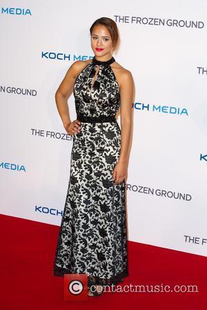 Nathalie Emmanuel - The Frozen Ground UK premiere held at the Vue cinema - Arrivals - London, United Kingdom -...
