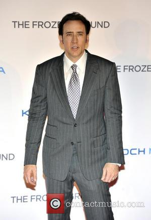 Nicolas Cage - The Frozen Ground UK premiere held at the Vue cinema - Arrivals - London, United Kingdom -...