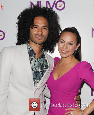 Anjelah Johnson and Manwell Reyes