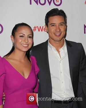 Anjelah Johnson and Mario Lopez
