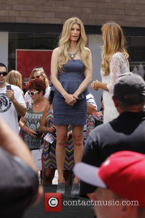 Marisa Miller - Celebrities at The Grove to appear on entertainment news show 'Extra' - Los Angeles, CA, United States...