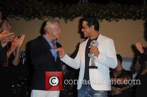 Joel Schumacher and Gabriel Garko