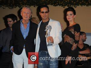 Joel Schumacher, Gabriel Garko and Laura Torrisi