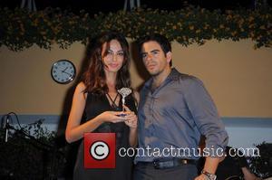 Madalina Ghnea and Eli Roth