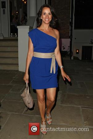 Andrea McLean - Celebrities leaving the ITV Summer Party held at a private house in Notting Hill - London, United...