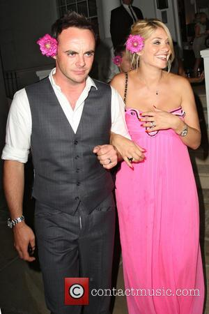 Anthony McPartlin and Holly Willoughby - Celebrities leaving the ITV Summer Party held at a private house in Notting Hill...