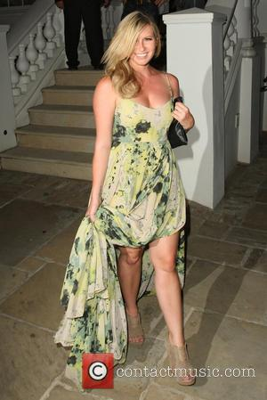Brooke Kinsella - Celebrities leaving the ITV Summer Party held at a private house in Notting Hill - London, United...