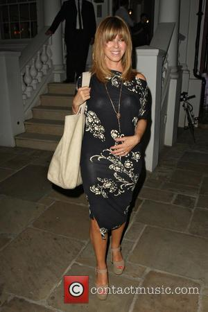 Kate Garraway - Celebrities leaving the ITV Summer Party held at a private house in Notting Hill - London, United...