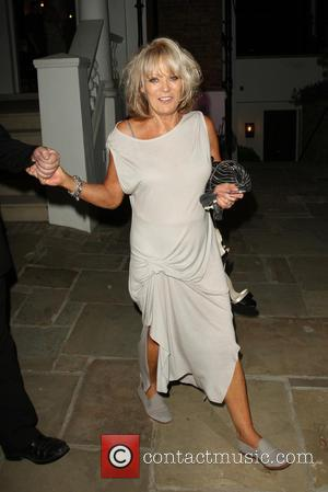 Sherrie Hewson - Celebrities leaving the ITV Summer Party held at a private house in Notting Hill - London, United...