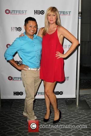 Alec Mapa and Amanda Christensen - 2013 Outfest Film Festival 'Second Shot' Screening - Los Angeles, California, United States -...