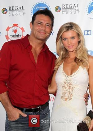 Romain Zago and Joanna Krupa - Variety Hosts The Children's Charity Of Southern California Texas Hold 'Em Poker Tournament -...