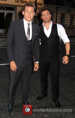 Lee Ryan and Duncan James - Attitude Magazine's World's Sexiest Men 2013 Summer Party - London, United Kingdom - Thursday...