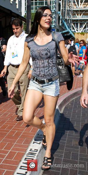 Adrianne Curry - Comic-Con 2013 held at San Diego Convention Center - Celebrity Sightings - Day 1 - San Diego,...