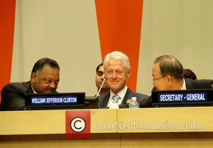 Jesse Jackson, Bill Clinton and Ban Ki Moon