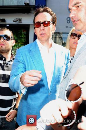 Nicholas Cage - Nicholas Cage out and about - London, United Kingdom - Thursday 18th July 2013