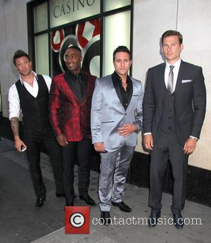 Duncan James, Simon Webbe, Antony Costa and Lee Ryan - Attitude Magazine's World's Sexiest Men 2013 Summer Party - London,...