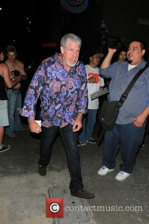 Ron Perlman - Celebrities arriving at NFL Quarterback Matt Leinart's 7th Annual Celebrity Bowl at Lucky Strike in Hollywood -...