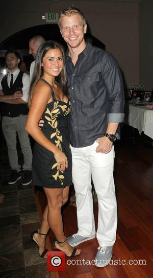 Catherine Giudici and Sean Lowe