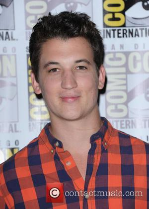 MILES TELLER - Comic-Con International 2013 at San Diego Convention Cente - San Diego, California, United States - Thursday 18th...