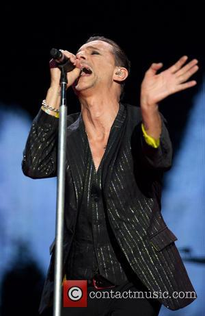 Dave Gahan - Depeche Mode perform live at the San Siro stadium - Milan, Italy - Thursday 18th July 2013