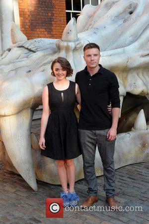 Maisie Williams and Joe Dempsie