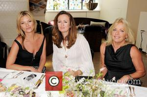 Kate Moss, Lucy Yeomans and Sarah Doukas