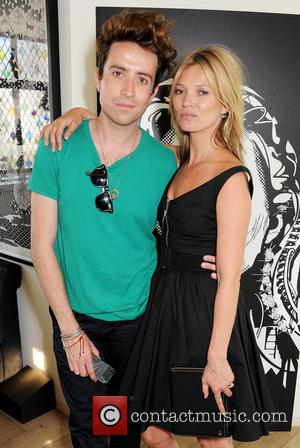 Nick Grimshaw and Kate Moss