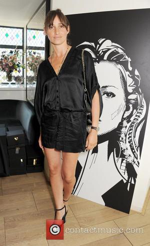 Kate Moss and Rosemary Ferguson