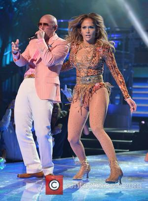 Pitbull and Jennifer Lopez - Premios Juventud 2013 - Show - Coral Gables, Florida, United States - Thursday 18th July...