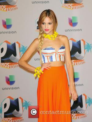 Eiza Gonzalez - Premios Juventud 2013 - Press Room - Coral Gables, FL, United States - Thursday 18th July 2013
