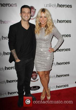 Mark Ballas and Chelsie Hightower - Chelsie Hightower and Peta Murgatroyd's joint charity birthday party benefiting Unlikely Heroes - Beverly...