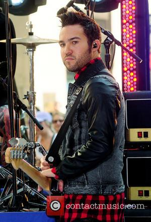 Fall Out Boy and Pete Wentz - Fall Out Boy performs live as part of the Toyota Concert Series on...
