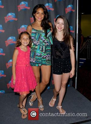 Nicolette Pierini, Jene Hernandez and Fatima Ptacek