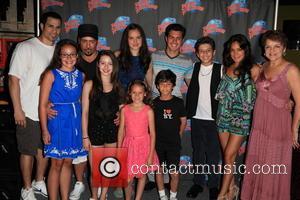 Joey Dedio, Frankie Faison, Fatima Ptacek, Gabriella Fanuele, David Castro and Priscilla Lopez