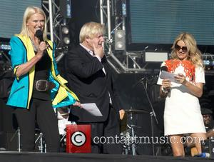Anneka Rice, Boris Johnson and Tess Daly - Go Local at the Queen Elizabeth Olympic Park - London, United Kingdom...