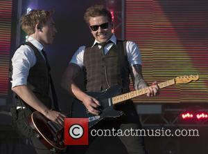 Dougie Poynter, Danny Jones and McFly
