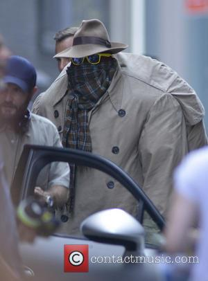 Top Secret Turtle - Filming scenes for the new movie 'Teenage Mutant Ninja Turtles' in New York - New York...