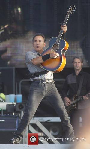 Bruce Springsteen - Bruce Springsteen performs live at King's Hall - Belfast N Ireland, United Kingdom - Saturday 20th July...
