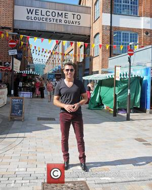 Gino D'Acampo - Celebrity Chef Gino D'Acampo attends the Gloucester Quays Food Festival 2013 - Gloucester, United Kingdom - Saturday...