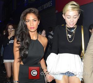 Miley Cyrus and Nicole Scherzinger
