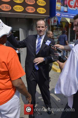 Elliott Spitzer - Justice for Trayvon Martin Rally held at One Police Plaza in New York City - New York,...