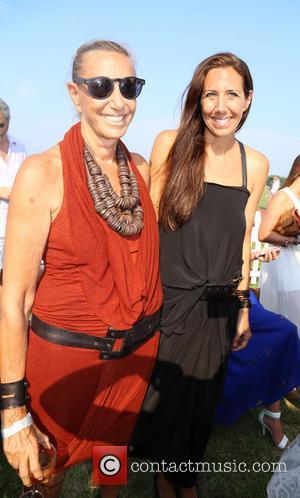 Donna Karan and Gabby Karan