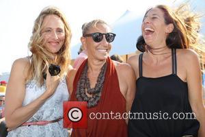 Kim Raver, Donna Karan and Gabby Karan