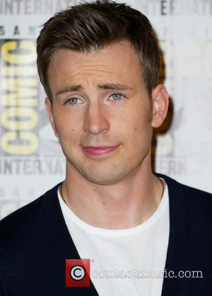 Chris Evans - Comic-Con International 2013 - Marvel - Photocall