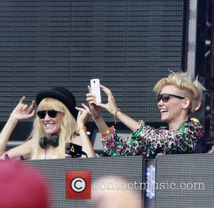 Nervo, Miriam Nervo and Olivia Nervo - Electric Daisy Festival Tour hits London's Queen Elizabeth Olympic Park - London, United...