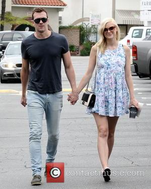 Jamie King and Kyle Newman - A pregnant Jamie King out and about in Brentwood with her husband, Kyle Newman....