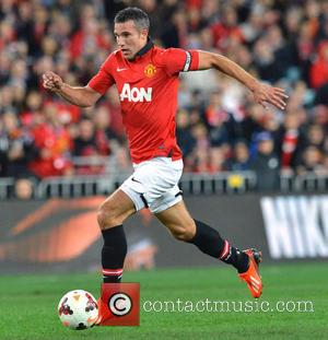 Robin Van Persie - Manchester United play Australia's A-League All Stars during their 2013 pre-season tour - Homebush, Australia -...