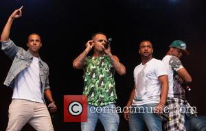 Aston Merrygold, Marvin Humes, Oritse Williams, Jonathan 'jb' Gill and Jls