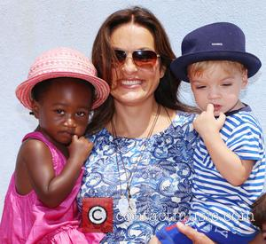 Mariska Hargitay, Amaya Andrew and August